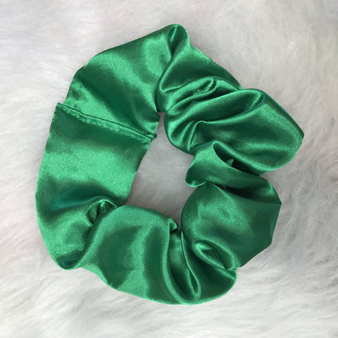 Emerald Green Scrunchie