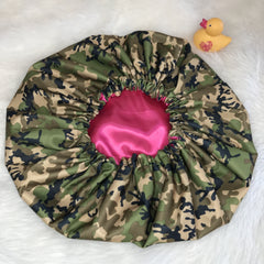 Camo Shower Cap