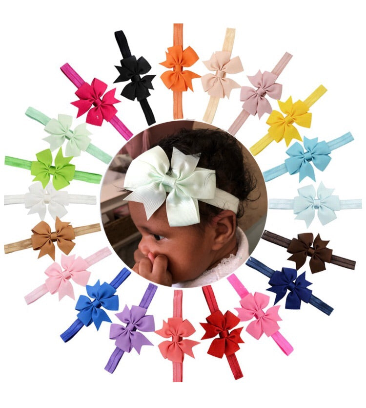 Newborn-Infant Bow Headband