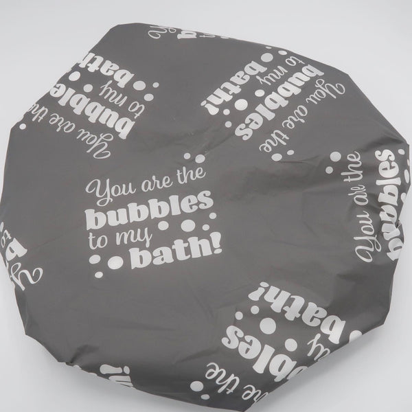 Bubbles To My Bath Showercap