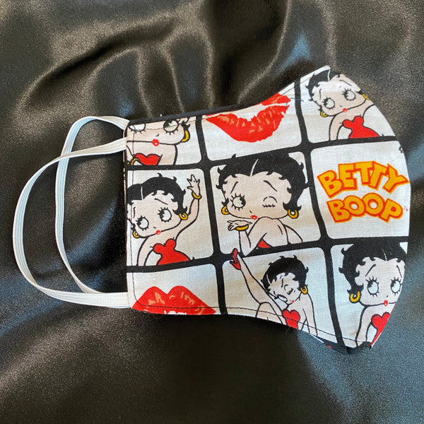Betty Boop Red Dress Mask