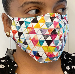 Triangle Mural Protective Mask