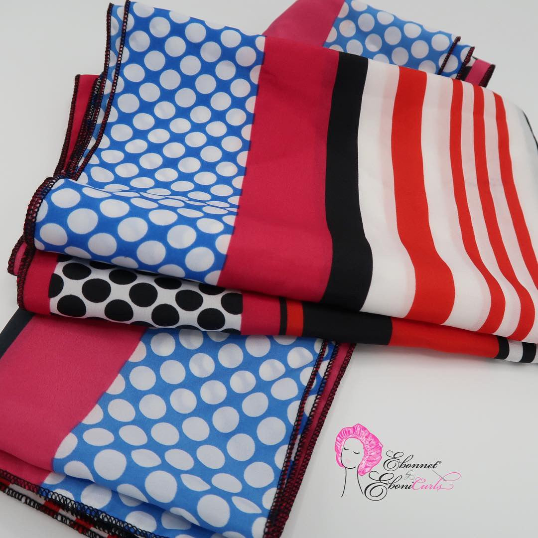 Extra Large Square & Rectangle Scarves in Stripes and Polka Dots