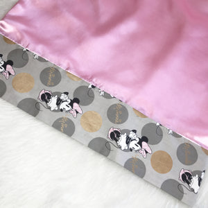 Polka Dot Minnie Pillowcase