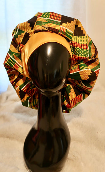 Kente Bouffant