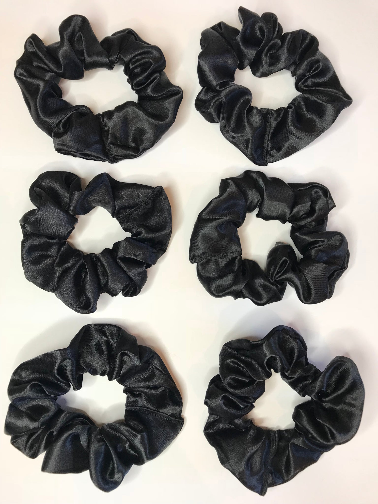 6 Pack Scrunchies