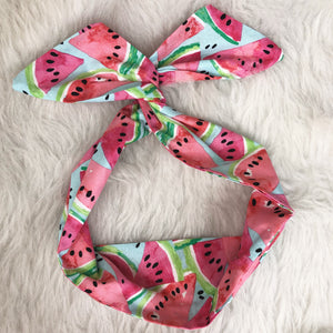 Watermelon Hair Tie