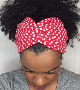 Red Polka Dot eturban