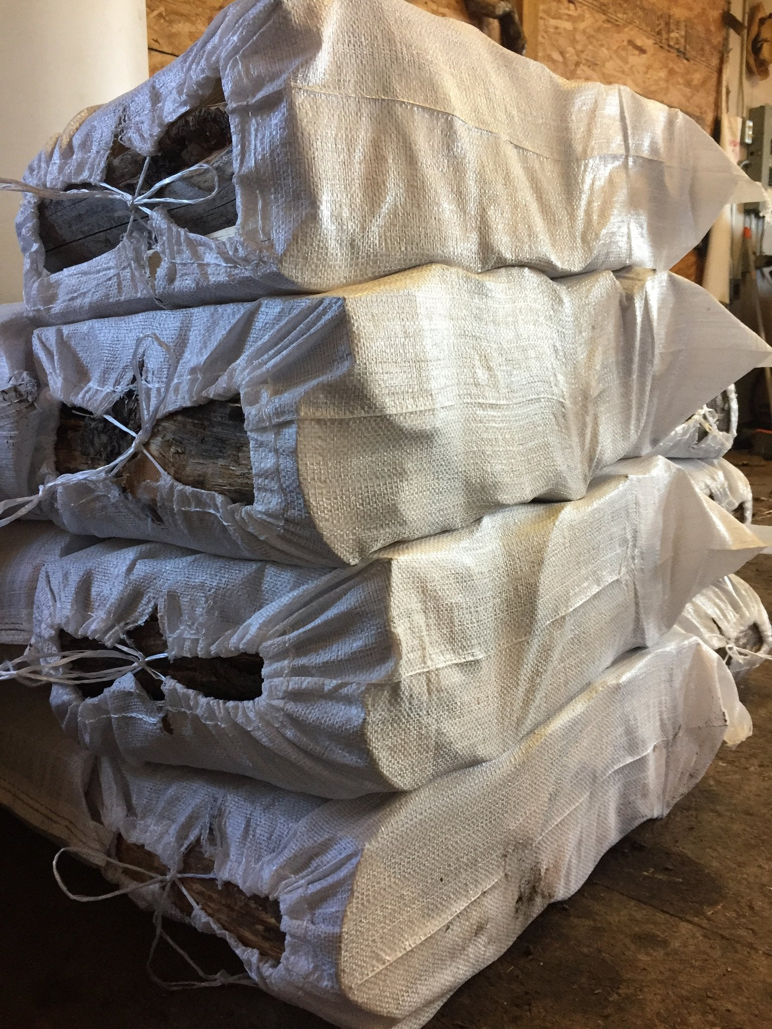 Firewood Bags - Pine Mix (10 Bags Pack)