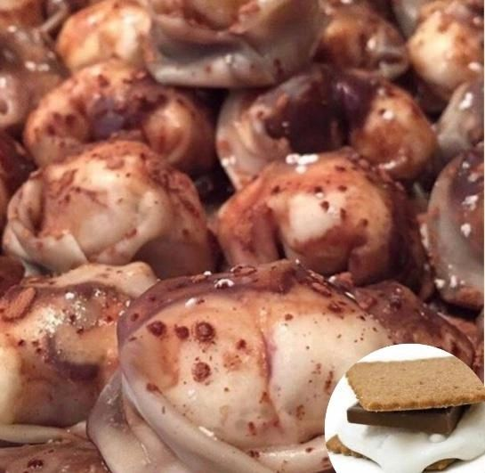 S'mores Wontons