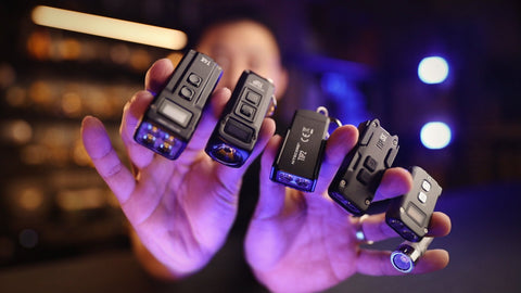 Ultra-Compact Lights (Car Key Size)