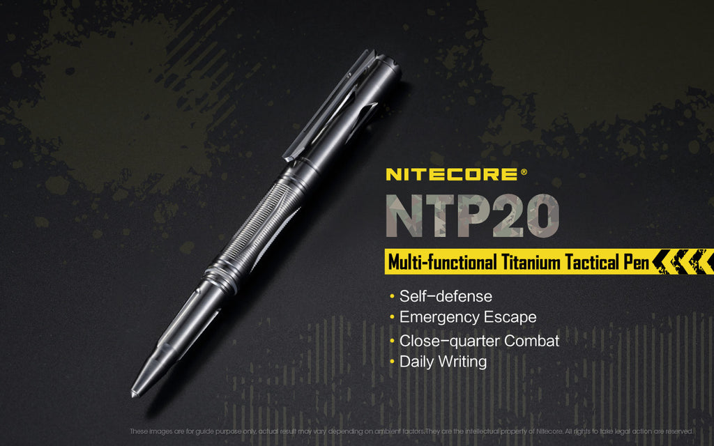 Titanium Tactical Pen NTP20