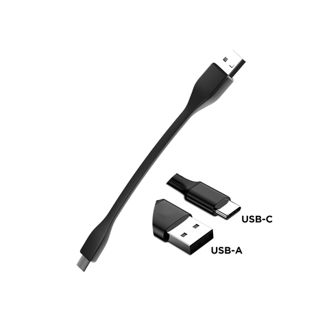Flexible USB-C to USB-A Cable Stand