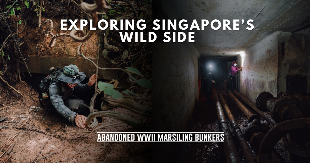 Group Trek: Abandoned WWII Marsiling Bunkers