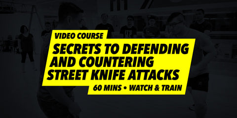 Secrets To Countering Street Knife Attacks (Video Course)