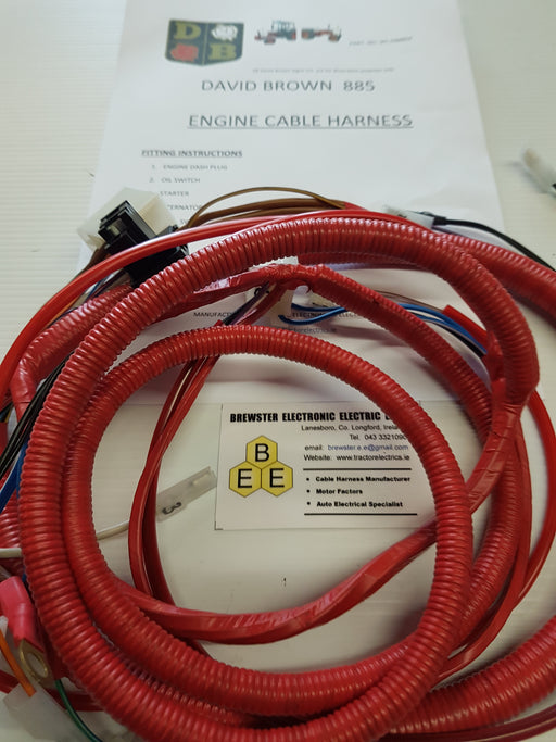 David Brown 885, 1190, 1194 Engine Harness