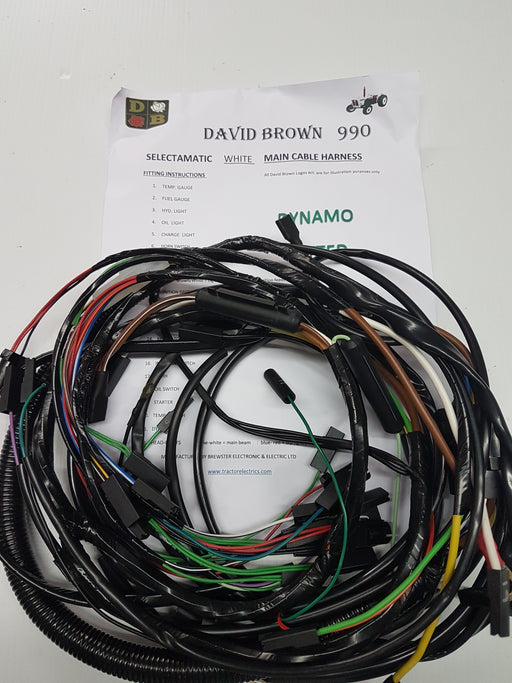 David Brown Tractor Parts And Products — Tractor Electric's on
