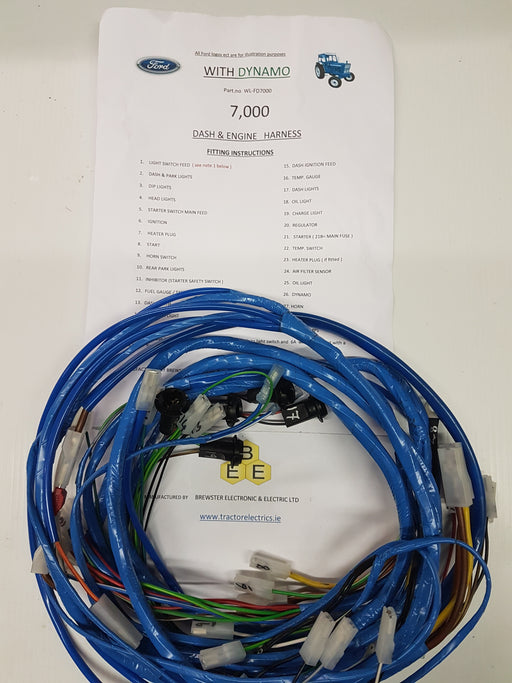 Tractor Wiring Harness And Looms  U2014 Tractor Electric U0026 39 S