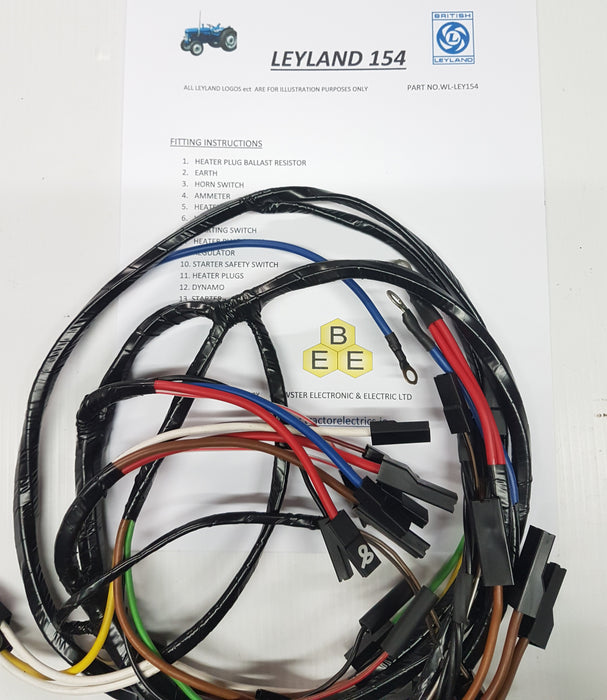 Leyland 154 Series Tractor Harness