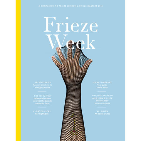 Frieze Week issue 3