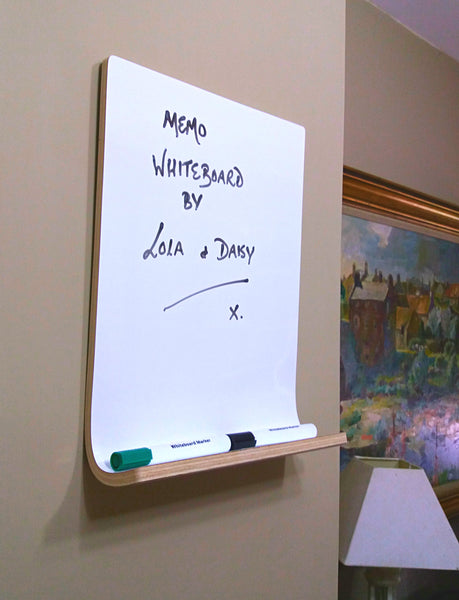 Whiteboard - Dry Erase Board with Shelf