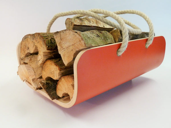 Modern Log Holder / Carrier available in various colours