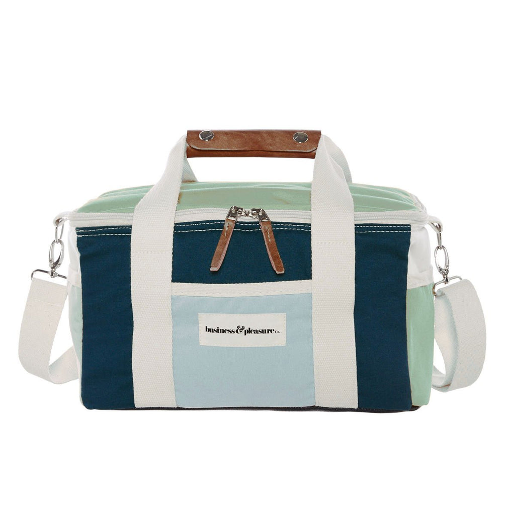 The Premium Cooler Bag - 70's Santorini