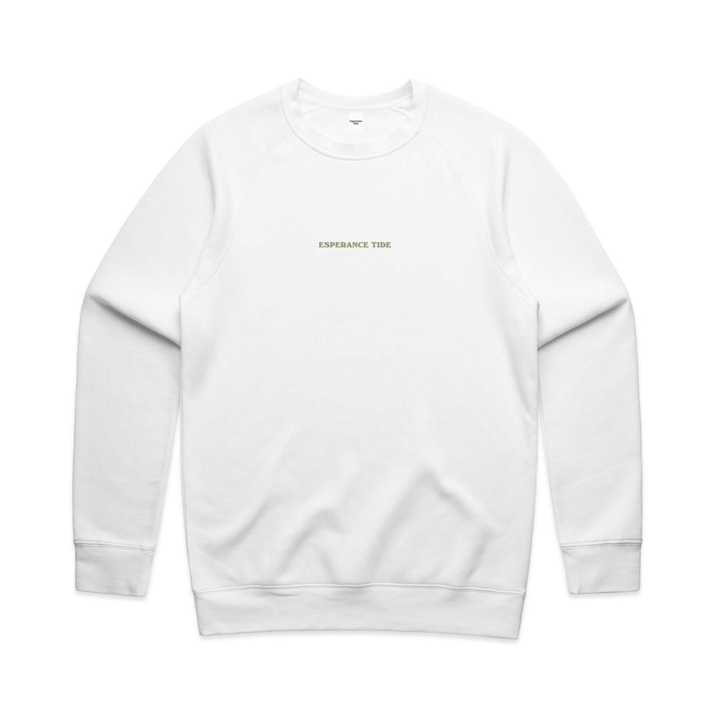 Cape le Grand Crew - White (PREORDER)
