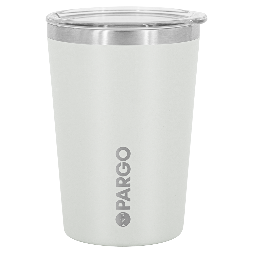 Tide & Co x Project Pargo Insulated Coffee Cup 12oz - Bone White