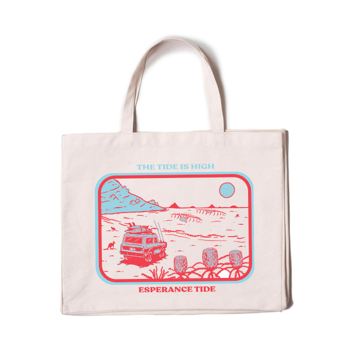 The Tide Is High Beach Bag