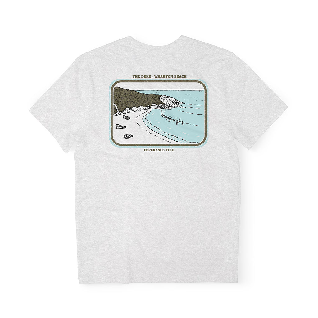 Wharton Beach Tee - Ash Grey