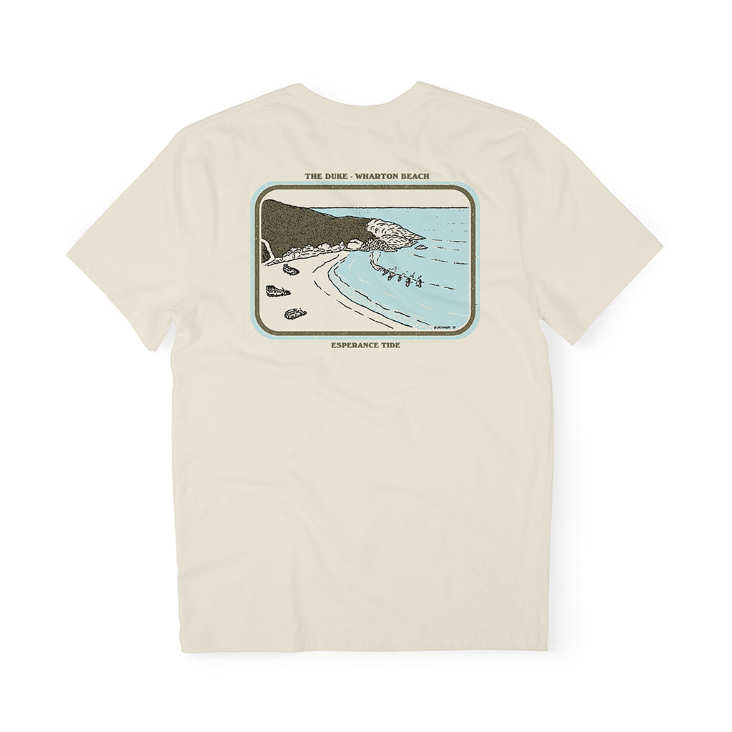 Wharton Beach Tee - Natural