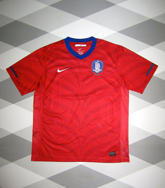 2010/11 South Korea Home Football Shirt L 1