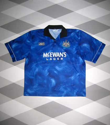 1993/95 Newcastle United Away Football Shirt 2XL 1