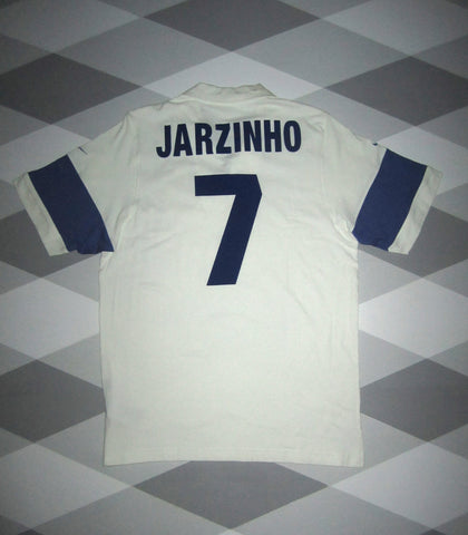 2004 Brazil FIFA Centenary Football Shirt L JARZINHO 7 2