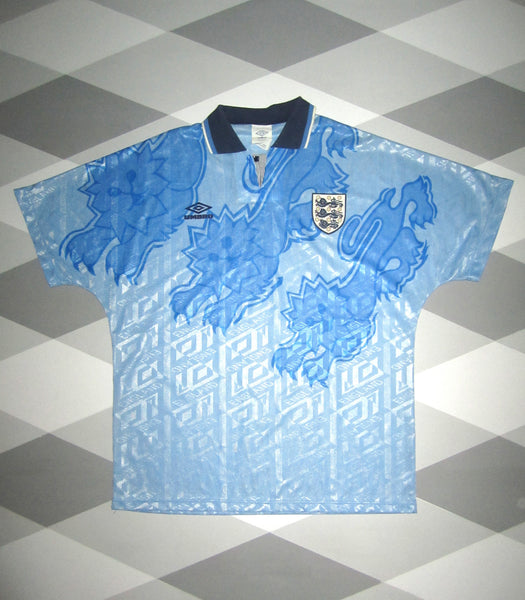 1992/93 England Third Football Shirt L 1