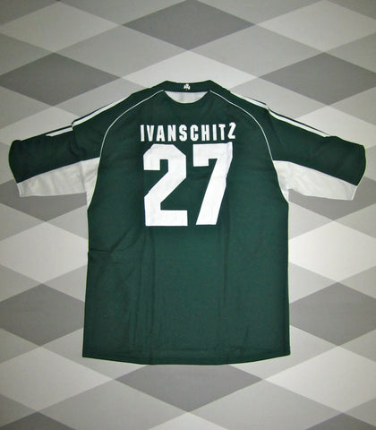 2005/06 Panathinaikos Home Shirt XL IVANSHITZ 27 * BNWT *