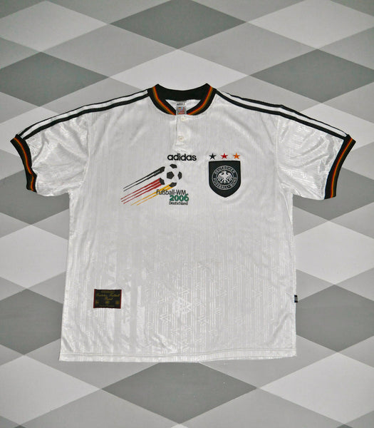 1996/98 Germany Home Football Shirt 2XL WM2006 1