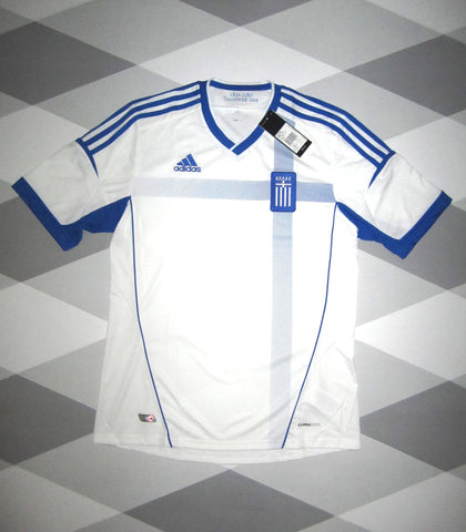 2012/13 Greece Home Shirt S * BNWT *