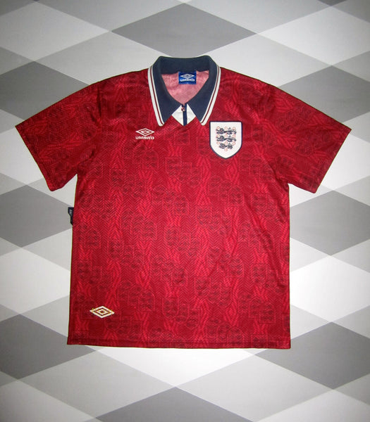 1994/95 England Away Shirt L