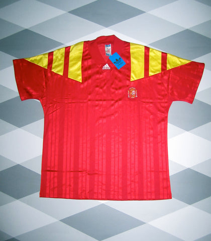 1992/94 Spain Home Shirt XL * BNWT *