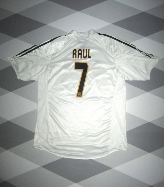2004/05 Real Madrid Home Shirt S RAUL 7