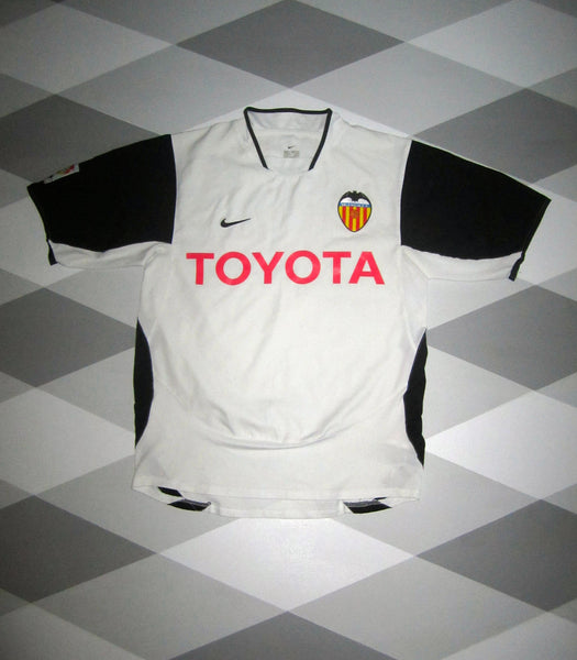 2003/04 Valencia Home Shirt S