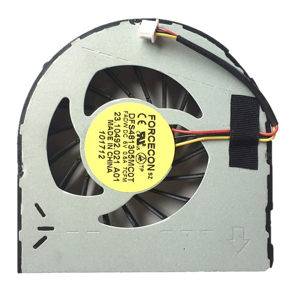 Dell Inspiron N5040 N5050 M5040 M4040 N4050 Vostro 1450 CPU Cooling Fan FORCECON DFS481305MC0T 23.10492.021