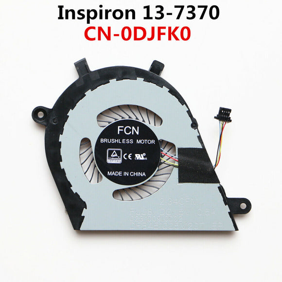 DELL Inspiron 7370 7373 Cpu Cooling Fan CN-0DJFK0
