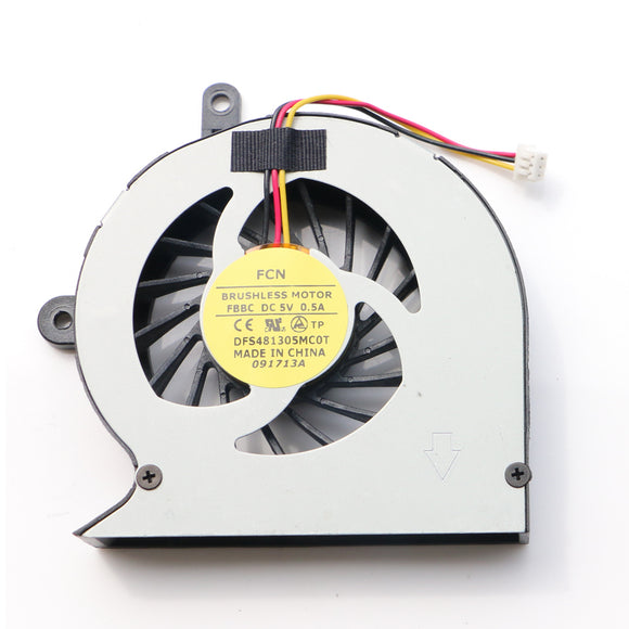 TOSHIBA Satellite L830-10F L830 Cpu Cooling Fan FCN DFS481305MC0T FBBC DC5V 0.5A