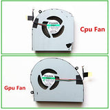 MG75090V1-C060-S9A MG75090V1-C070-S9A CPU Fan for Dell Alienware 17 R4 R5 CPU Cooling Fan L+R