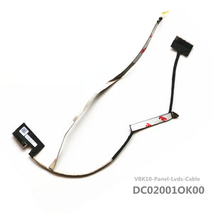 HP ZBook 17 PANEL LVDS MB SET Monitor Camera Cable VBK10 DC02001OK00
