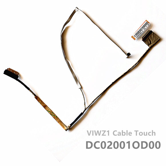 Lenovo Ideapad P400 Z400 Lcd Lvds Cable DC02001OD00 With Touch