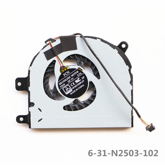 Clevo N240wu  N870hl CPU Cooling Fan 6-31-N2503-102